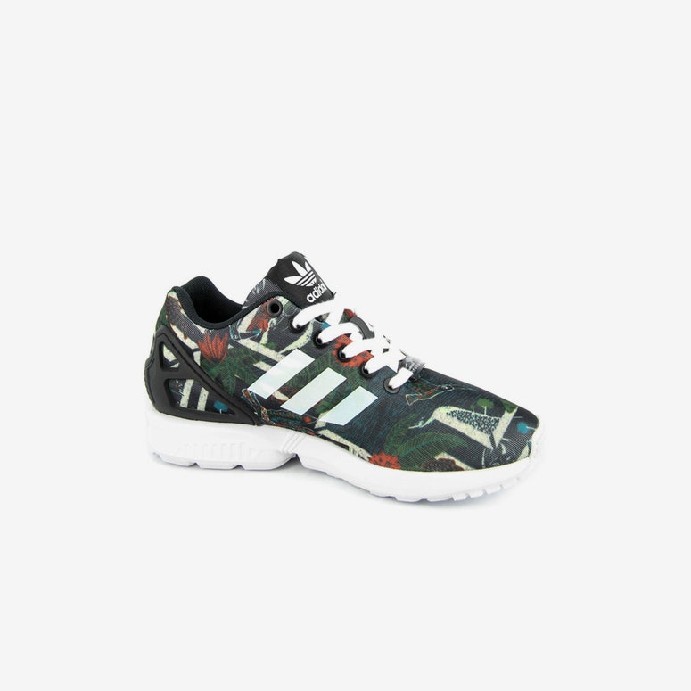 Womens ZX Flux Black/white/bla