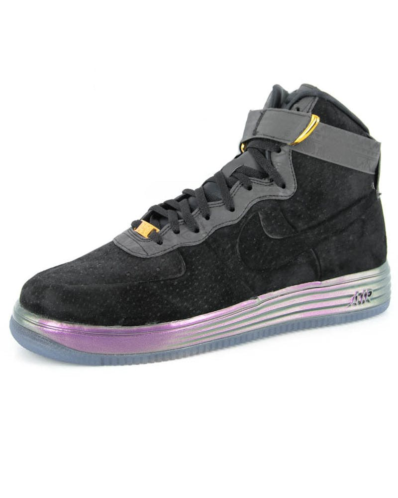 Lunar Force 1 Lux Bhm QS Black/black/gol