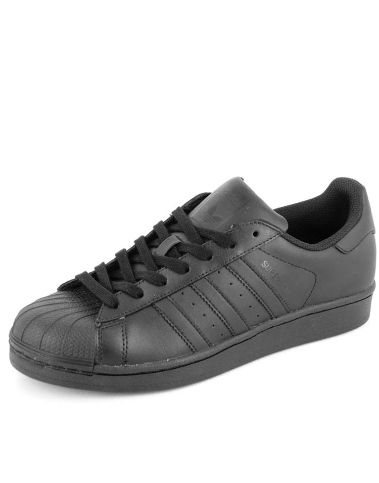 clearance sale best sneakers great prices Superstar Foundation Shoe Black/black/bla