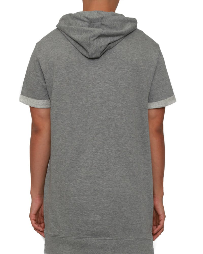 Vaurien SS Hoody Grey Heather