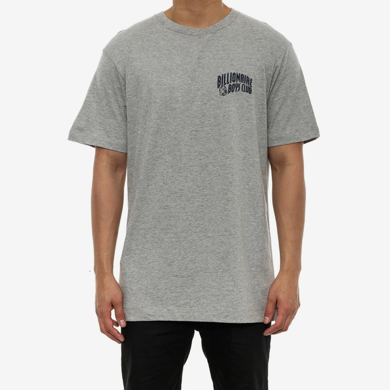 Small Arch Logo Tee Grey/navy