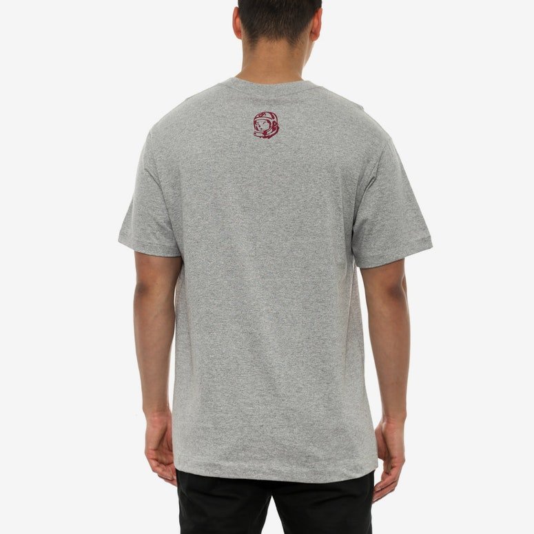 Small Arch Logo Tee Heather Grey/bu