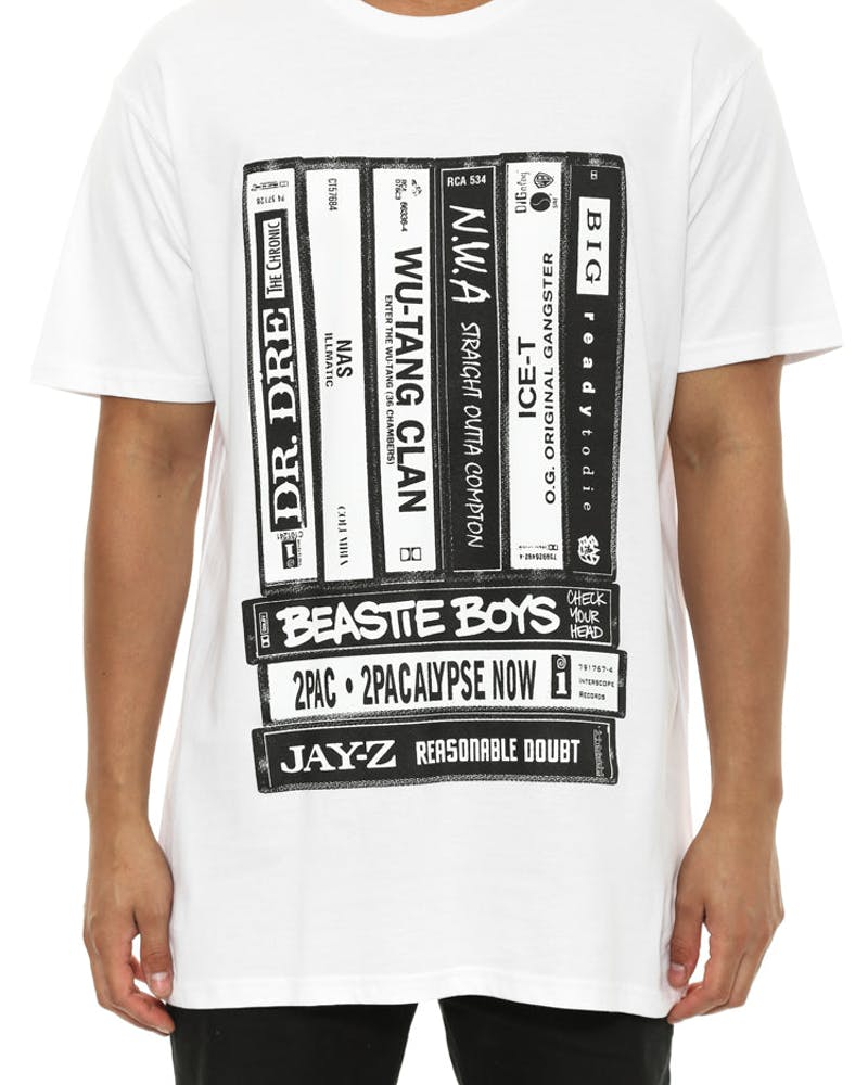 Tapes T White