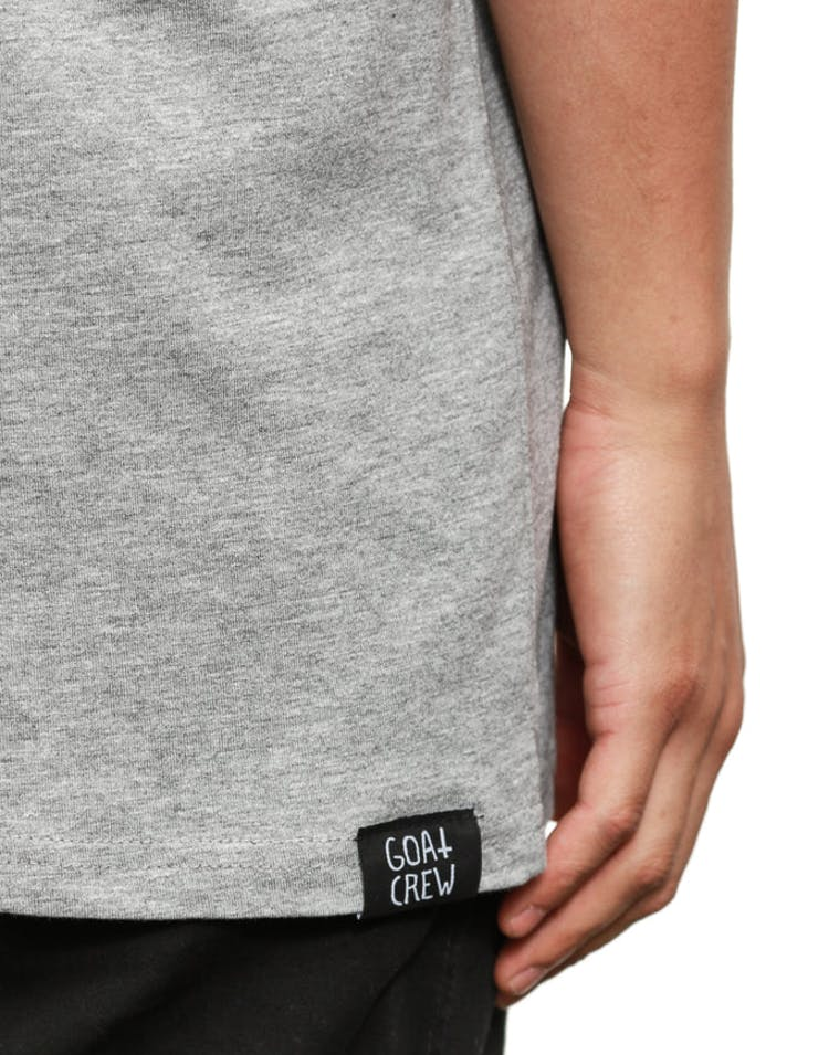 K.Dot Mini Head T Grey Heather