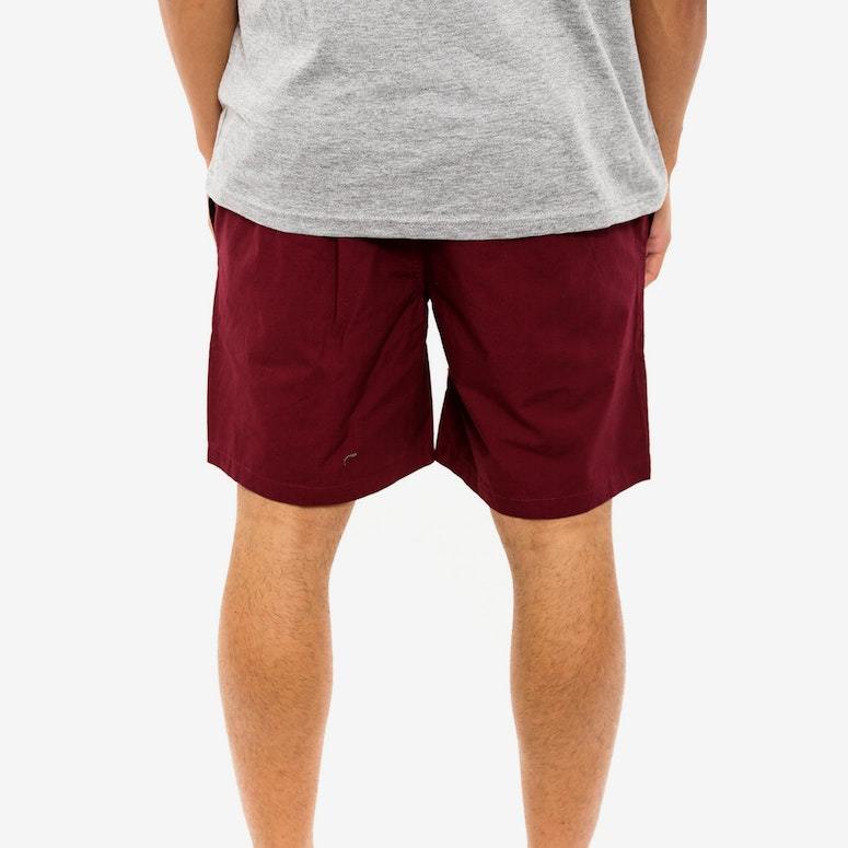 Beach Short Burgundy