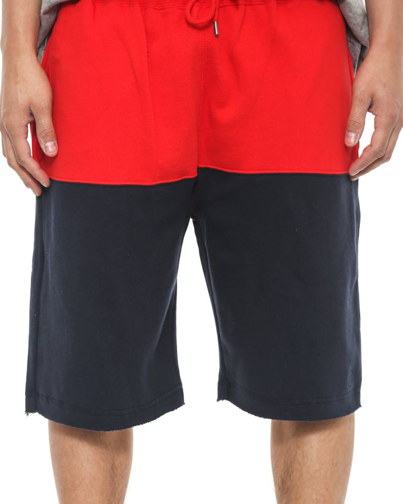 Low Jump Shorts Red/navy