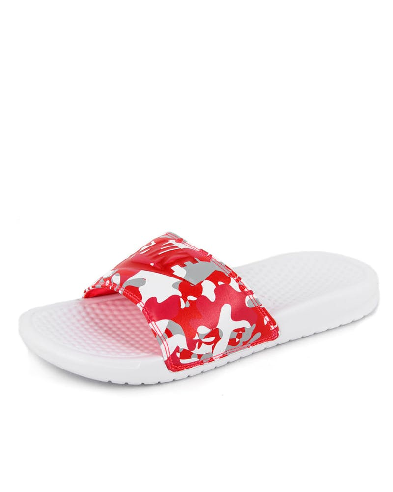 Women's Benassi Jdi Print White/grey/red