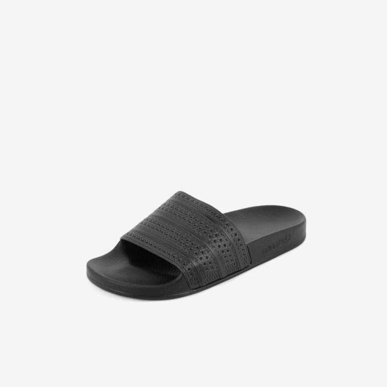 Adidas Originals Adilette Slides Black black red – Culture Kings NZ a7d8e03c3