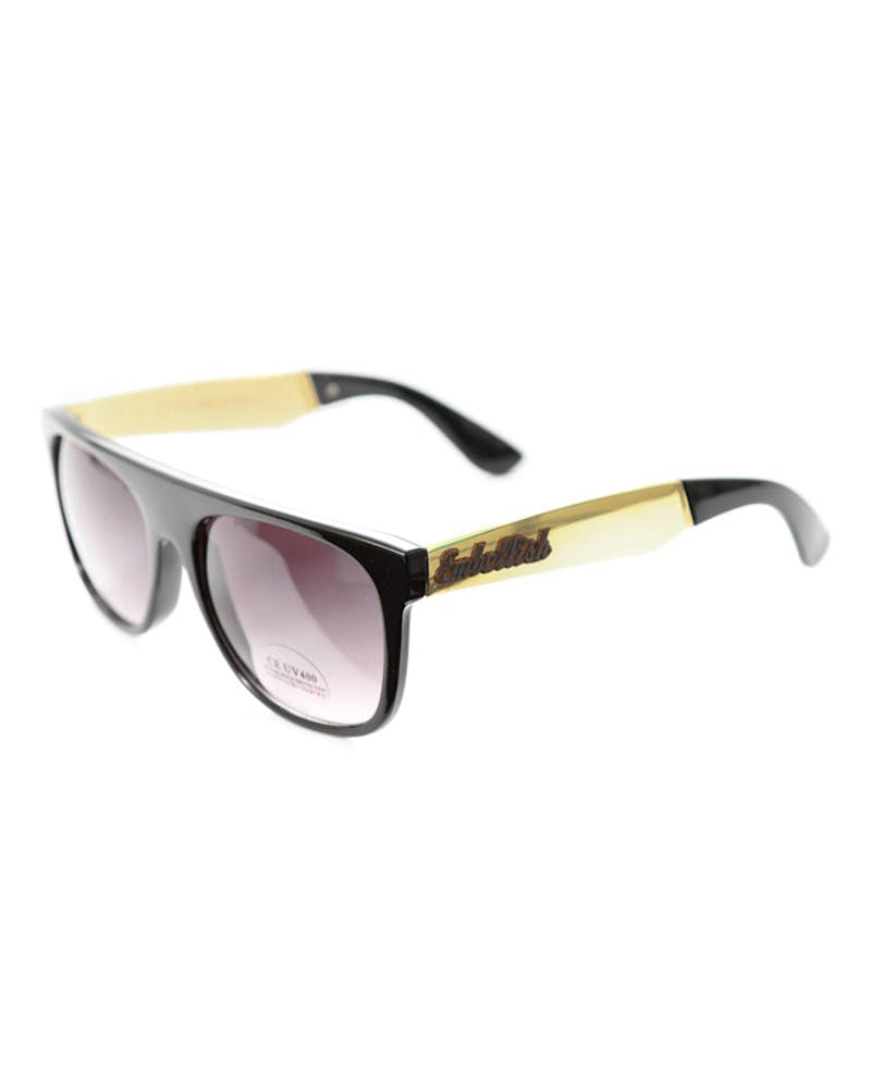 Embelish Sunglasses Black