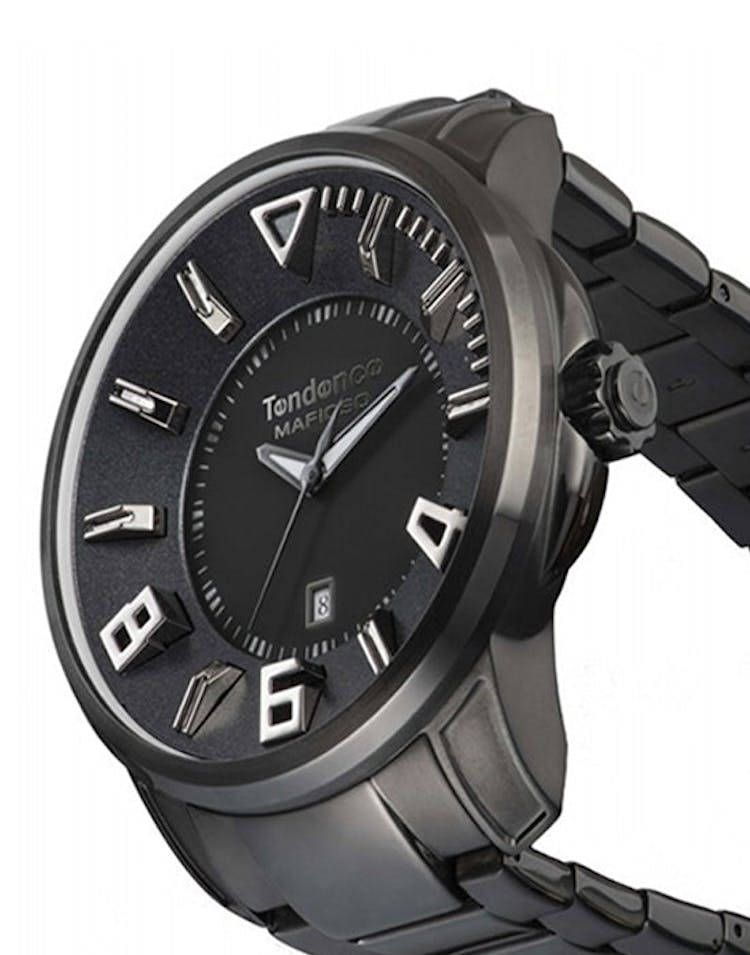 Mafioso 3H Watch Black