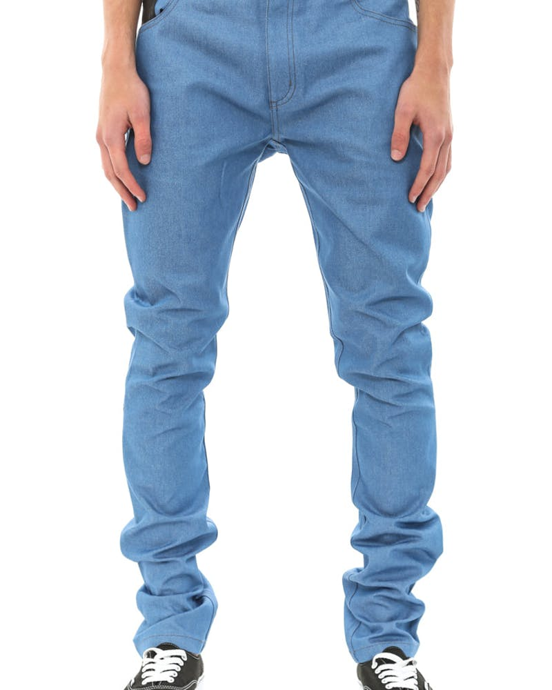 Rocco Jean PU Pocket Royal
