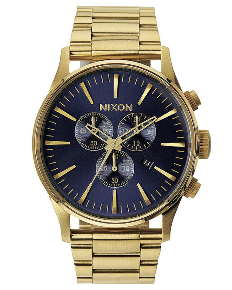Sentry Chrono Gold/blue