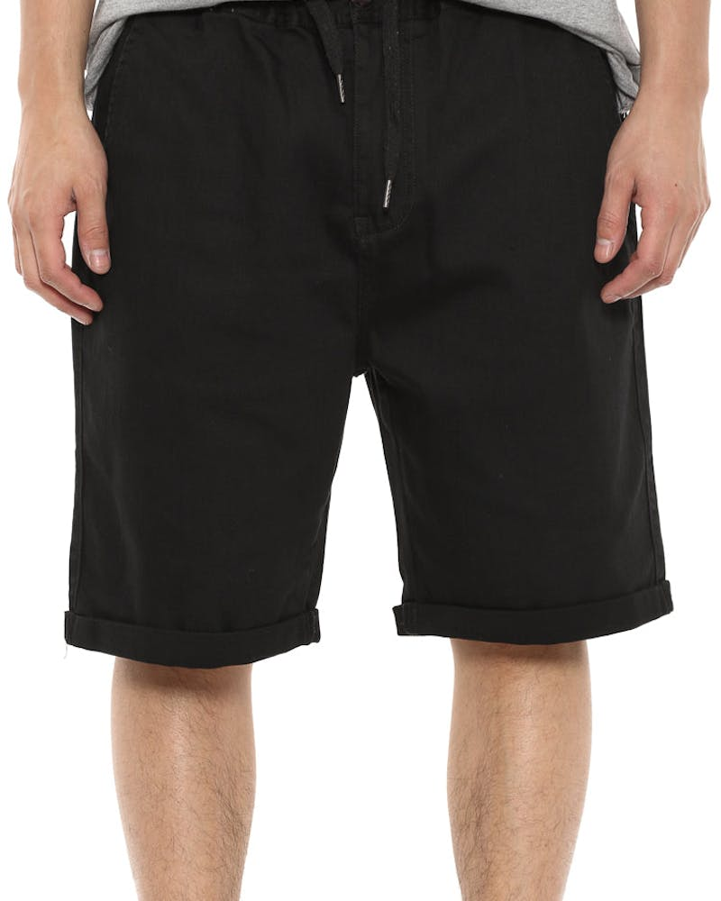Coney Denim Short Black